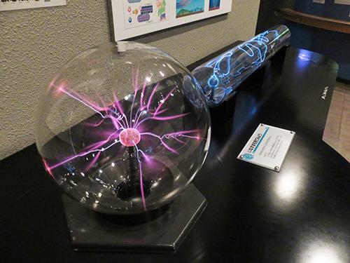科学館展示品いなずま