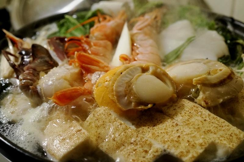 「海鮮鍋」完成